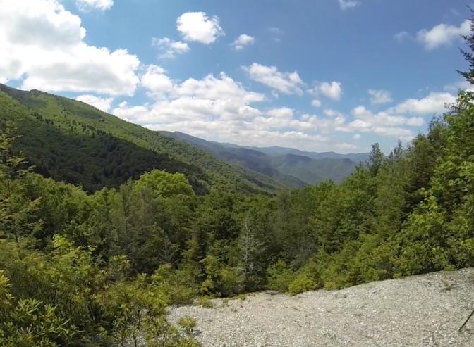 Mount Mitchell View from Below Deer Mountain