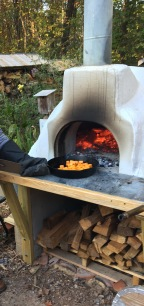 DIY Home pizza oven