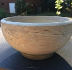 Homemade wooden bowls